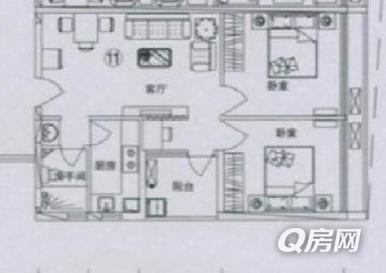 上海国金汇 酒店式公寓 可以按月起租 全新装修 真实照片图片