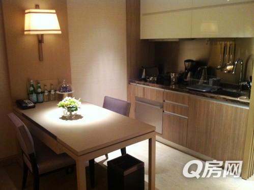 ifc酒店式公寓,带厨房,可月租,可年租,实照实价,国金汇_q房网图片